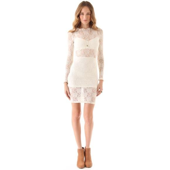 For Love And Lemons Dresses & Skirts - NWOT For Love & Lemons Lila Dress - Off White